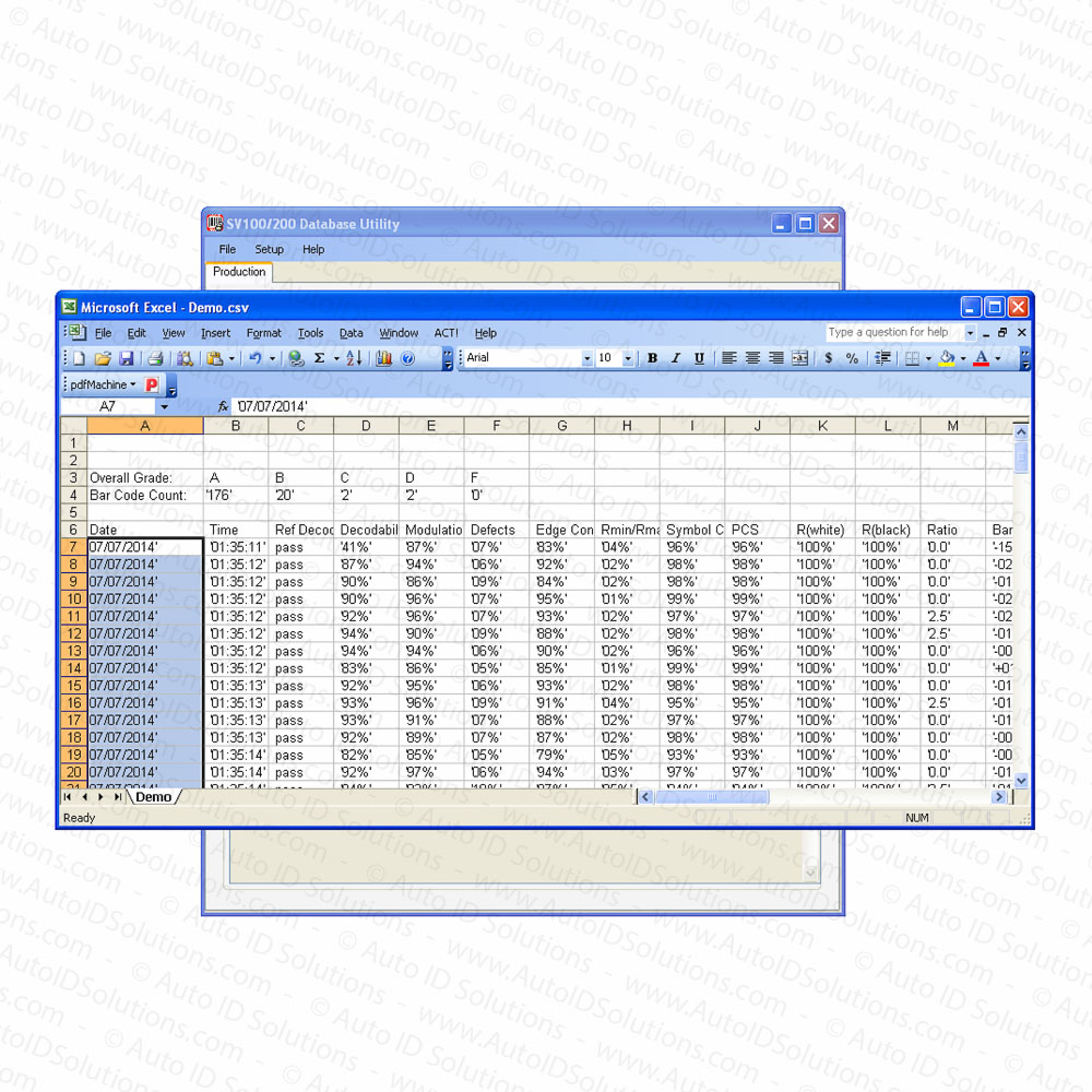 Electronic Real Id Application: SV Database Software Kit For The Printronix SV100 And