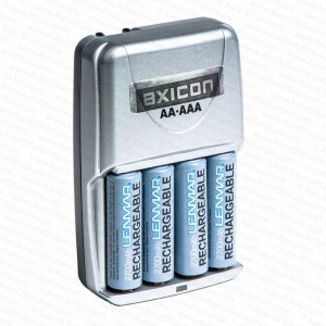 Axicon Portable Display NiMH Battery Charger