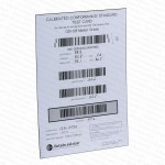 GS1 Calibrated Conformance Standard Test Card Code 128 10mil