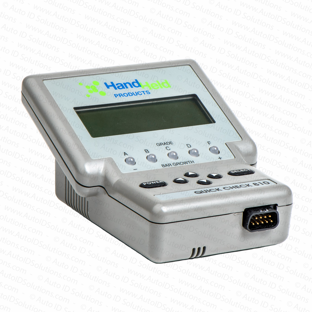 Hand Held Products (Honeywell formally PSC or HHP) Quick Check 810 - Auto  ID Solutions