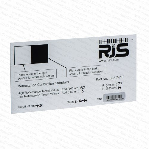 RJS Auto Optic D4000 Calibration Plaque