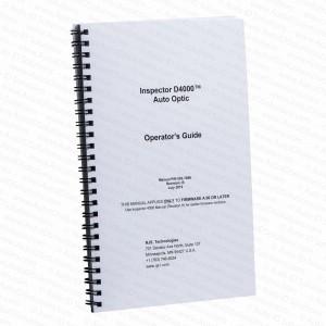 RJS Inspector D4000 AutoOptic Manual