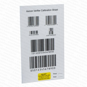Axicon Calibration Plaque PC6000 PC6015 PC6500 PC 6515 PC7000 PC7015