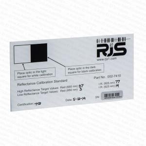 RJS Auto Optic D4000 Calibration Plaque